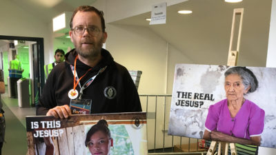 Passionists UK The Real Face of Jesus? Passionists Exhibit at Flame